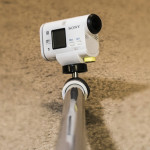 Camera extension arm