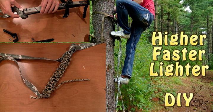 climbing stick modification
