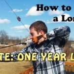 homemade longbow
