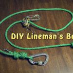 diy lineman's belt